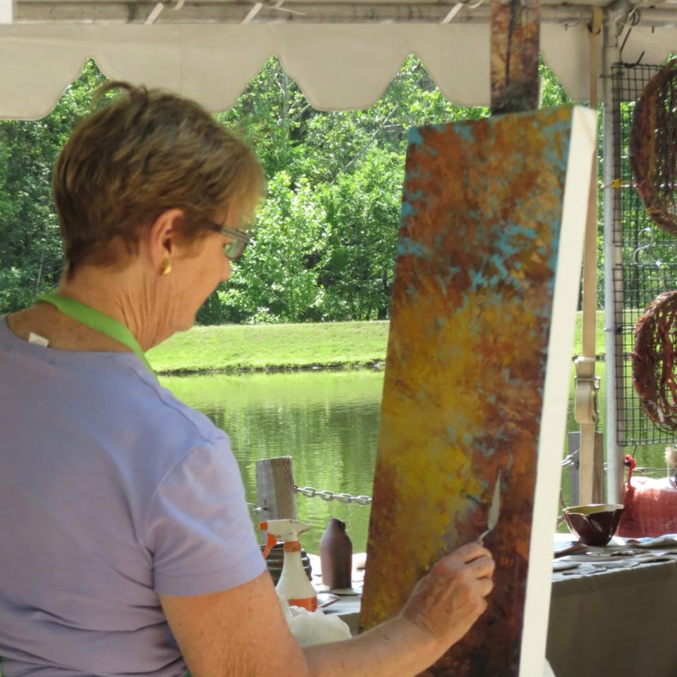 Rassawek Vineyards - Plein-air painter