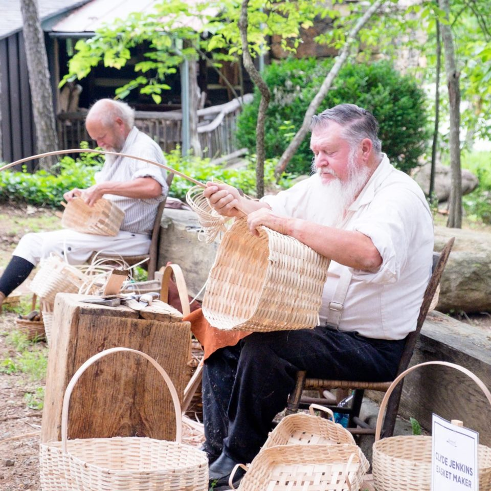 Basket weavers - Rassawek