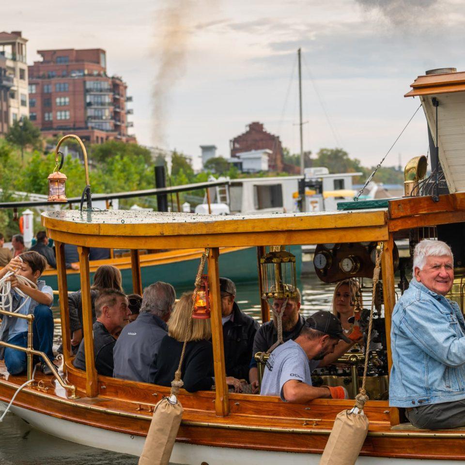 Steamboats at Sunset - Rassawek