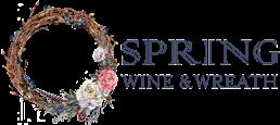 Spring Wine & Wreath mobile