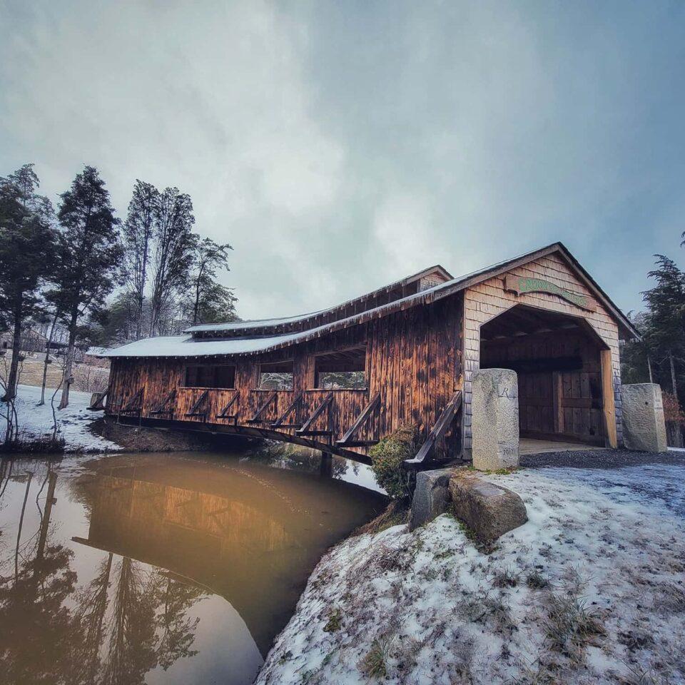 Covered Bridge, snowy - Rassawek